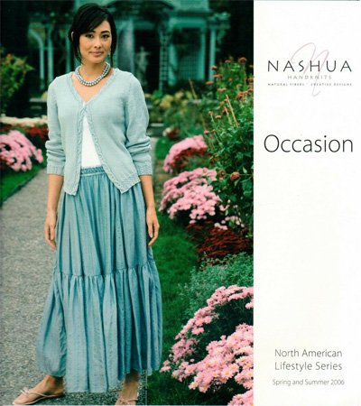 Occasion Knitting Pattern Book by Nashua Handknits