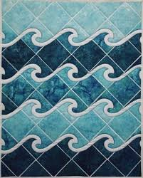 Ocean Waves Quilt Pattern by Another by Anita