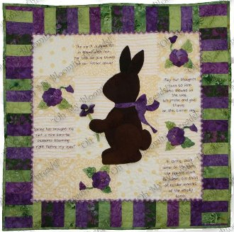 Easter Blessings Quilt Pattern by Oh My Bloomin' Threads