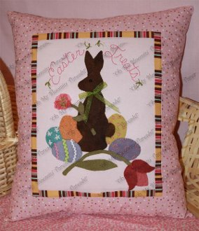 Easter Treats Pillow Pattern by Oh My Bloomin' Threads