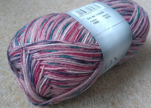 Online Supersocke Graffiti Color Yarn