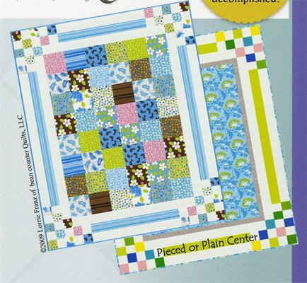 Bouncing Borders Quilt Pattern by Bean Counter Quilts