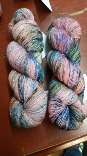 Paint With All The Colors of the Wind October 2018 Yarn by Pictured Yarns