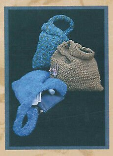 The Pamela Small Knitted Bag Pattern by Two Old Bags