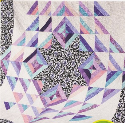Paradise Found Quilt Pattern in 4 Sizes by Cozy Quilt Designs