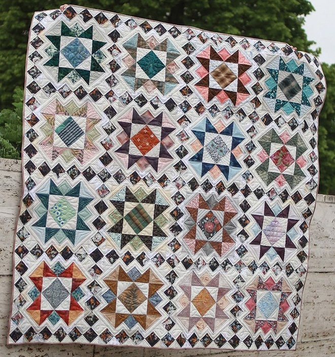 Parquet Quilt Pattern by Eye Candy Quilts