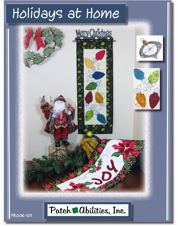 Holidays At Home Quilting Book by Patchabilities