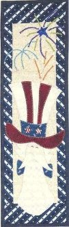 Mister Liberty Banner Pattern by Patchabilities
