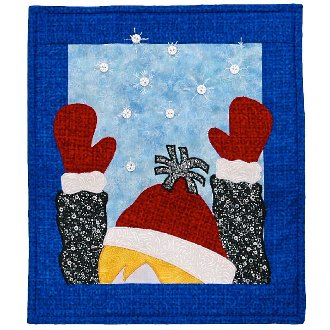 Snowflake Catcher Wallhanging Pattern by Patchabilities