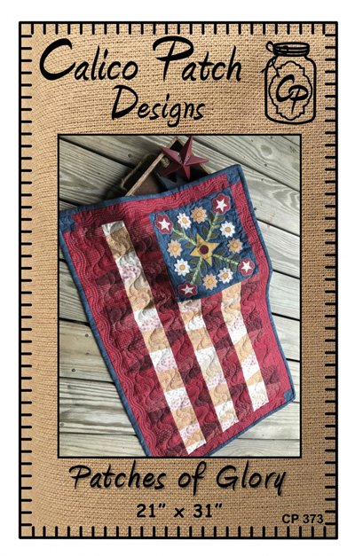 Patches of Glory Wallhanging Pattern and Template by Calico Patch Designs