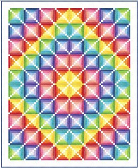 Candyland Quilt Pattern by Patti Carey