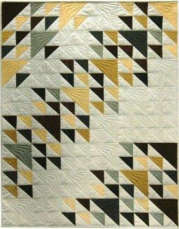 Flight Path Quilt Pattern by Patti Carey