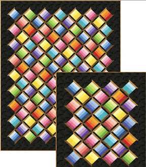 Just Spoolin' Quilt Pattern in 3 Sizes by Patti Carey