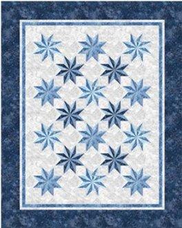 Prism Stars Quilt Pattern by Patti Carey