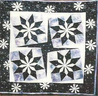 Snow Dance Quilt Pattern by Pieceful Quilter