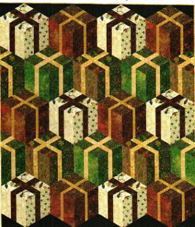 Stacks of Presents Quilt Pattern in 4 Sizes by Patti Carey