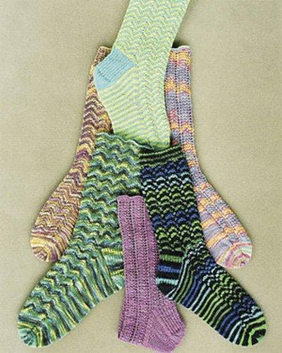 Peak Experience Sock Pattern by Betsy Lee McCarthy