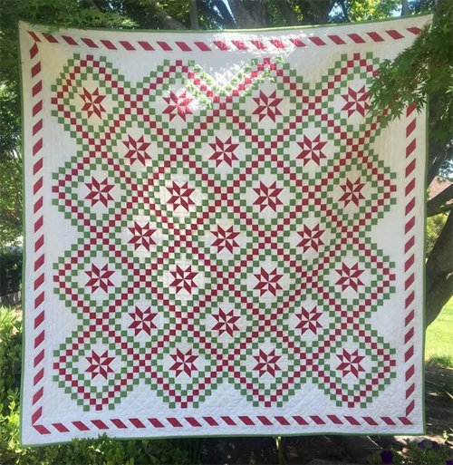 Peppermint Twist Quilt Pattern by Thimblecreek Quilts