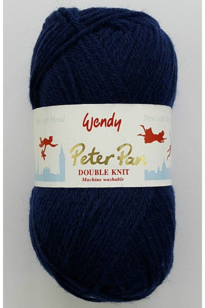 Peter Pan Wendy Yarn #314 Sailor Blue at North Woods Knit & Purl