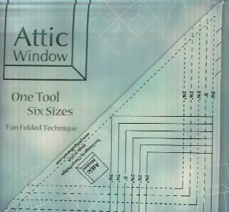 Attic Window Ruler and Pattern by Phillips Fiber Art