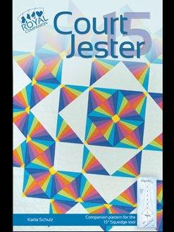 Court Jester Quilt Pattern in 4 Sizes by Phillips Fiber Art