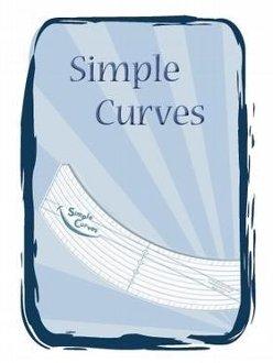 Simple Curves Ruler by Phillips Fiber Art