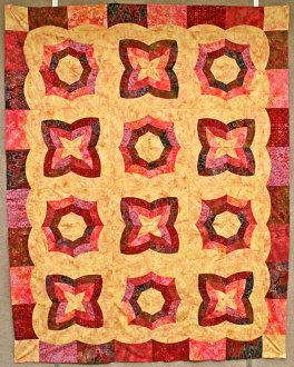 Simple Harmony Quilt Pattern by Phillips Fiber Art