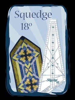 Squedge 18 Ruler by Phillips Fiber Art