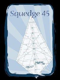 Squedge 45 Degree Tool by Phillips Fiber Art