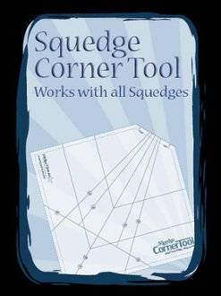 Squedge Corner Tool by Phillips Fiber Art