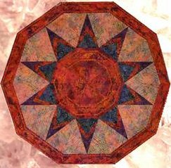 Sundial Quilt Pattern by Phillips Fiber Art