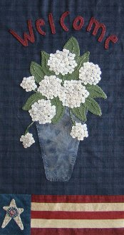 Home Grown Wallhanging Pattern by Primitive Gatherings