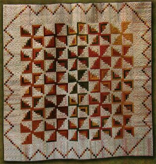 Pinwheel Party Quilt Pattern by Primitive Gatherings