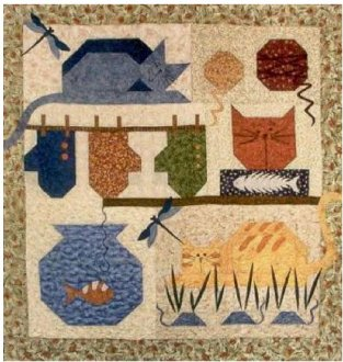 A Cat's Life Quilt Pattern by Prairie Grove Peddler