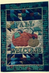 Fall Welcome Banner Pattern by Poorhouse Designs