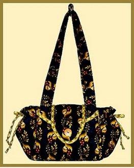 Feminine Purse-O-Nality Bag Pattern by Palm Harbor Designs