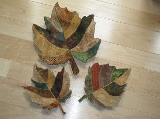 Natural Inspirations Leaf Bowl Pattern by Poorhouse Designs