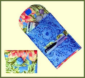 Pocket Purse-O-Nality Folded Wallet Pattern by Palm Harbor Pat