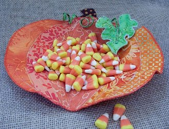 Pumpkin Party Bowl Pattern by Poor House Designs