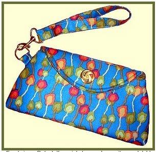 Purse-O-Nal Wristlet Bag Pattern by Palm Harbor Designs