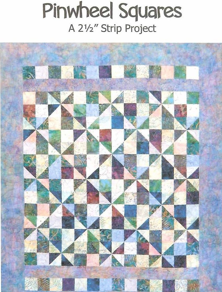 Pinwheel Squares Quilt Pattern by Far Flung Quilts