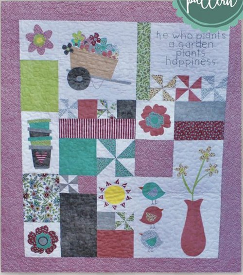 Plant A Garden Quilt Pattern by Meags and Me