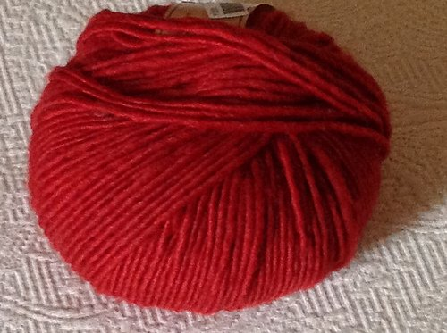 Plus Solids Yarn by Crystal Palace Color Red 1501