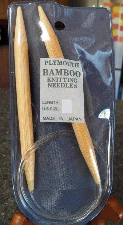 Plymouth Bamboo Circular Knitting Needles