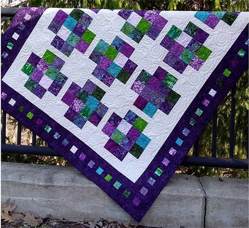 Positivity Squared Quilt Pattern by Canuck Quilter Designs
