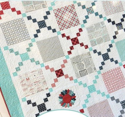Pot Luck Quilt Pattern by Sherri Noel of A Quilting Life