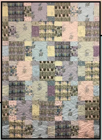 Potting Shed Quilt Pattern by Villa Rosa Designs