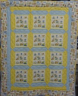 Baby Cakes Quilt Pattern by Pieceful Patches
