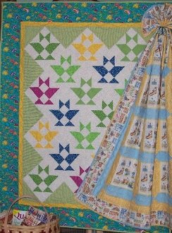 Bitsy Baskets Quilt Pattern by Pieceful Patches