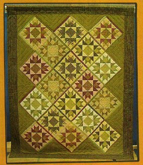 Brilliance Quilt Pattern by Pieceful Patches